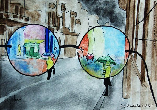Nuestro filtro personal a través del que vemos la realidad.