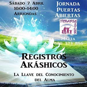 Puertas Abiertas Registros Akáshicos – 7 Abril en Arriondas